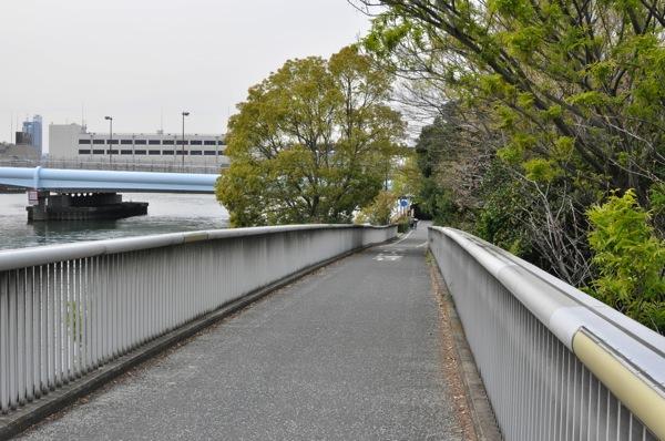 自転車道の橋