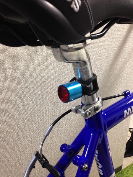 クロスバイクのLEZYNEライト