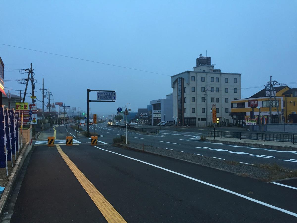 福知山の朝