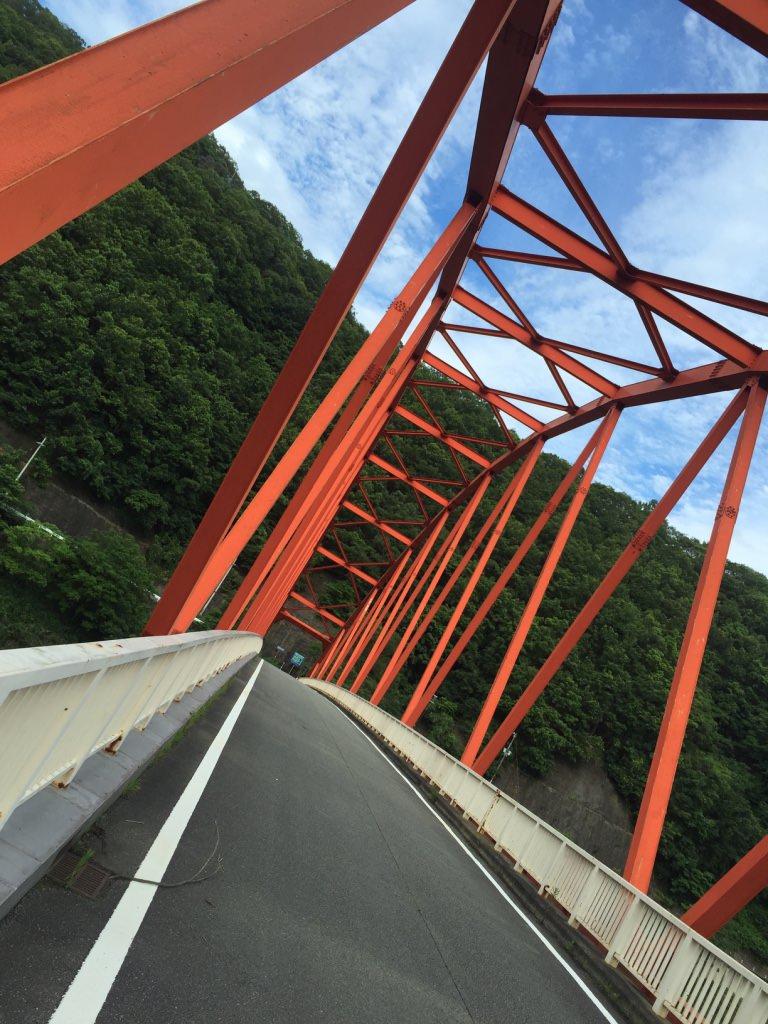 「一庫ダム」の橋