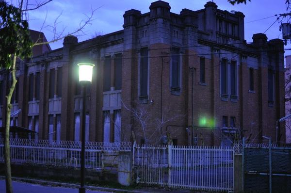 大阪城の近くの古い建物