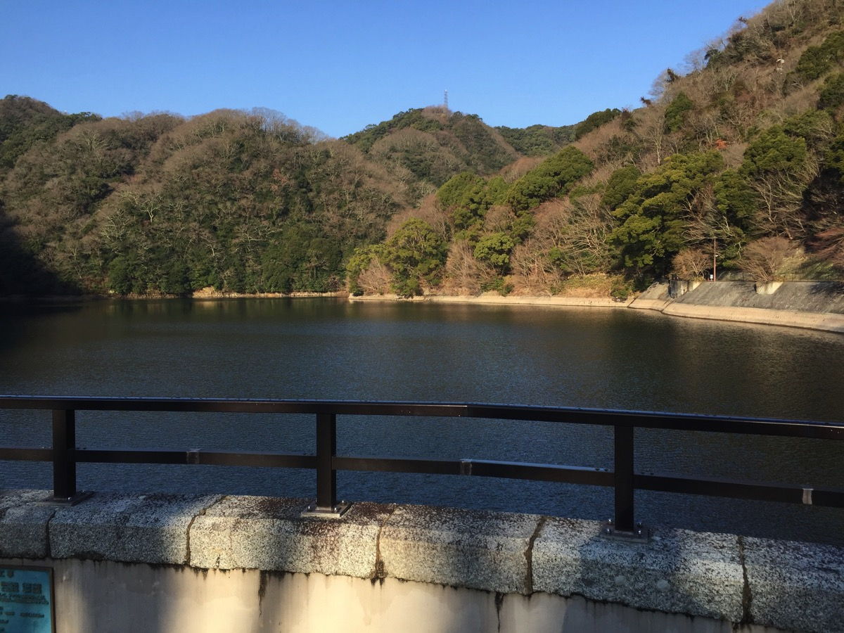 六甲山の湖