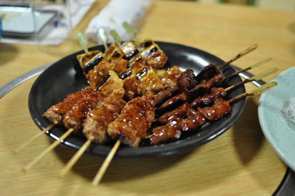串焼き3串