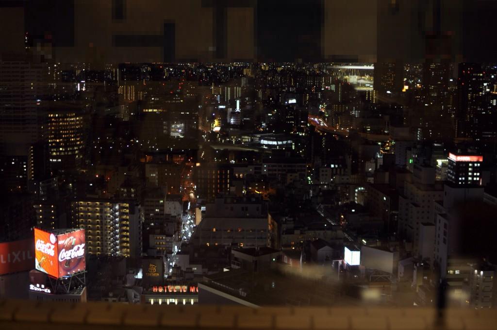 梅田・夜景スポット【空庭ダイニング】