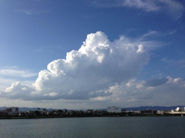 [ランニングコース]猪名川河川敷沿いを伊丹空港の飛行機を眺めながら15kmランニング!!