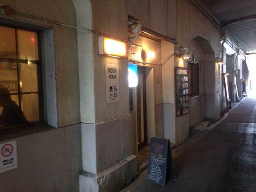 中崎町の高架下カフェ「NOON + CAFE」(ヌーンプラスカフェ)