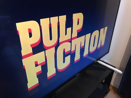 タランティーノ監督第2作「パルプ・フィクション」。20年ぶりに観たが、やはり面白い!!