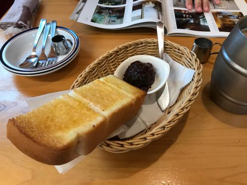 あんこトースト
